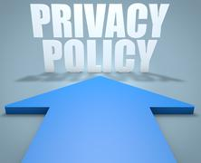Privacy Policy - stock illustration