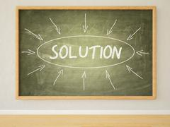 Stock Illustration of Solution