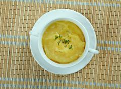 Crema de garbanzos - stock photo
