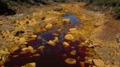 Rio Tinto Channel Stock Footage