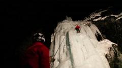 Ice climbing Arkistovideo