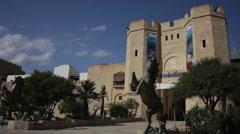 Medina Hammamet Tunisia Stock Footage