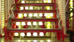 Stunning Spinning Carousel in MARSEILLE, FRANCE Stock Footage
