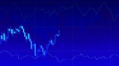 Economy graph Stock Footage
