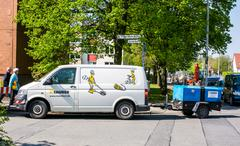 Bomb Detection in Hannover, Germany - stock photo