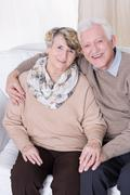 Falling in love in old age - stock photo