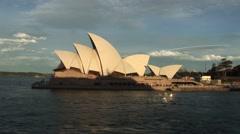 Sydney Opera House Sunset - stock footage