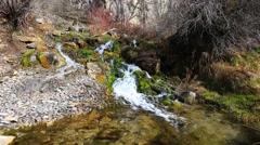 Mountain Spring Stock Footage