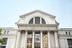 WASHINGTON D.C., MAY 26, 2014: The National Museum of Natural History is a na Stock Photos