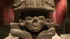 Anthropology Museum Mexico City, Steady Cam - stock footage