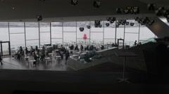 Amsterdam 4K Eye film institute _3 Stock Footage