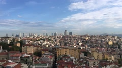 Istanbul Panoramic View Stock Footage