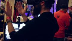 Virtual Reality Expo 15 Stock Footage
