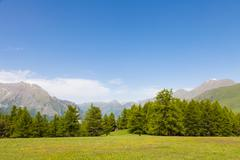 Italian Alps - stock photo