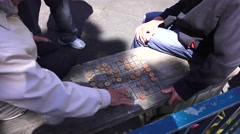 San Francisco, checkers Stock Footage