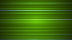 Broadcast Horizontal Hi-Tech Lines, Green, Abstract, Loopable, HD Stock Footage