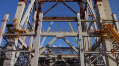 Construction Bolier6 - stock footage