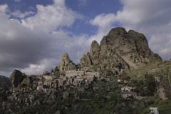 Pentedattilo Southern Italy Timelapse Stock Footage