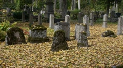 Old Cemetry 1 - stock footage