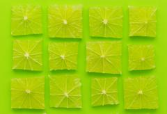 array of lime - stock photo