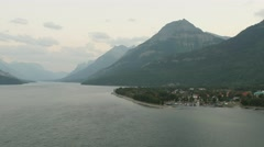 Waterton Lakes National Park - Canada - 30P - UHD 4K - Timelapse Stock Footage