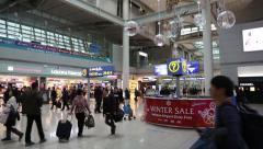 Incheon International Airport in South Korean Stock Footage
