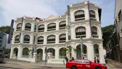 Peranakan Museum is a museum in Singapore Stock Footage