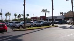 Anaheim Euclid Plaza 02 Stock Footage