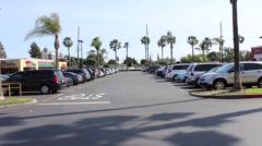 Anaheim Euclid Plaza 01 Stock Footage
