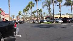 Anaheim Euclid Plaza 06 Stock Footage