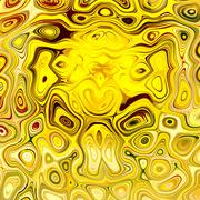 Artistic Yellow Grunge. Abstract Grungy Background. Unique Creative Image. Stock Illustration