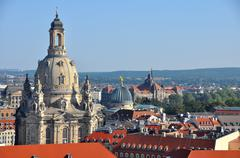 View over Dresden, Germany - stock photo