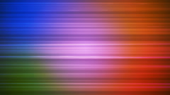 Broadcast Horizontal Hi-Tech Lines, Multi Color, Abstract, Loopable, HD Stock Footage