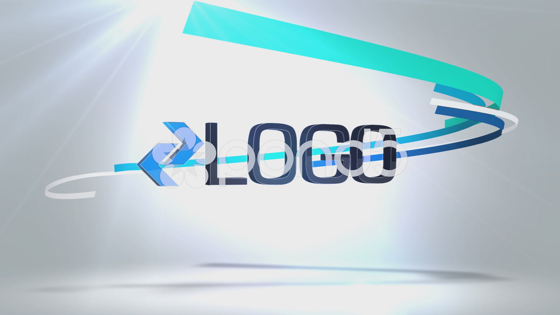 After Effects Project - Pond5 Ribbon Logo Reveal 49048723