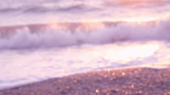 Defocused Blurred Sea - stock footage
