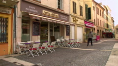 Stock Video Footage of Local Patisserie in FREJUS, FRANCE