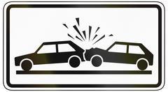 Risk Of Accident - stock illustration