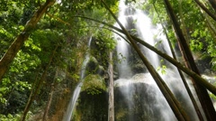 Stock Video Footage of Tropical Waterfalls 07