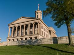 Tennessee State Capitol Building on Capitol Hill, Wide Stock Photos