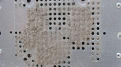 Vacuum Cleaner Dust Computer System Unit Ventilation Stock Footage