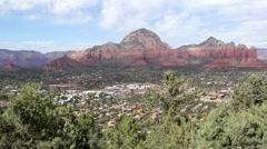 Sedona, Arizona - Landscape and Canyons Stock Footage