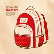 Stock Illustration of School bag