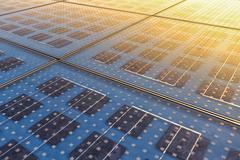 Solar Panel Texture Stock Photos