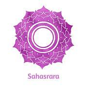 Sahasrara chakra - stock illustration