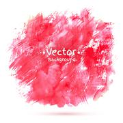 Abstract vector watercolor background Stock Illustration