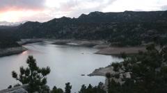 Pristine mountain lake - stock footage