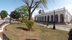 Museo Municipal Oscar Maria de Rojas - Cardenas Cuba Stock Footage