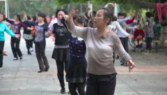 Woman dance Stock Footage