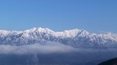 Mount Jigatake, Nagano Prefecture, Japan Stock Footage