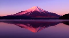 Stock Video Footage of View of Mount Fuji, Japan